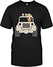 HOSALA Baby Groots Drive Jeeps's T-Shirt Cotton
