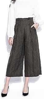 j'adore ワイドパンツ レディース ガウチョ パンツ スカーチョ スカンツ タック入り ズボン 3色