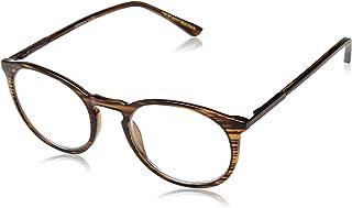 Foster Grant Unisex-Adult Mckay Multifocus Glasses 1018255-175.COM Round Reading Glasses