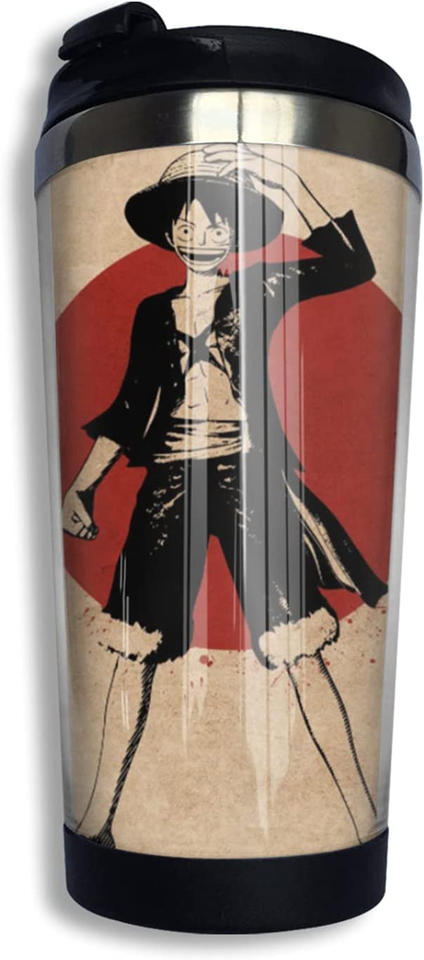 One Piece Monkey D Luffy Anime shop Coffee C Cup Our shop most popular Thermos Print Mug 3d