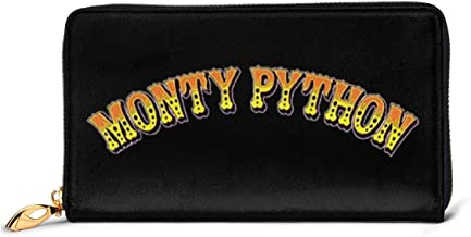 Monty-Python Women's Double Zip Wallet