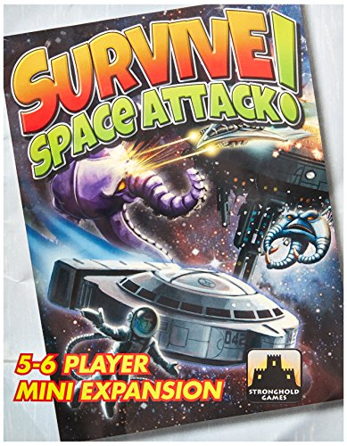 Stronghold Games STG09005 Brettspiel Survive: Space Attack 5-6 Player Mini-Expansion