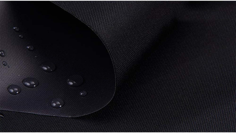 Tarpaulin NAN Schwere Plane hoher Dichte 400 g   m2 schwarz 100% wasserdicht und UV-Schutz (gre   4  6m)