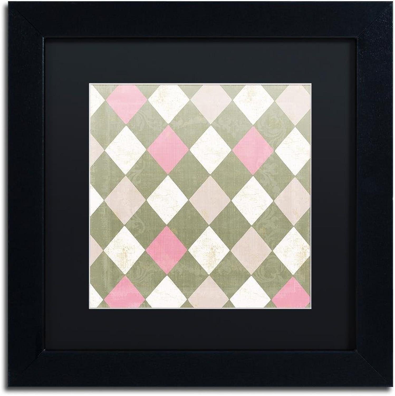 Trademark Fine Art ALI4535-B1111BMF Hyacinth III by color Bakery, Black Matte, Black Frame 11x11