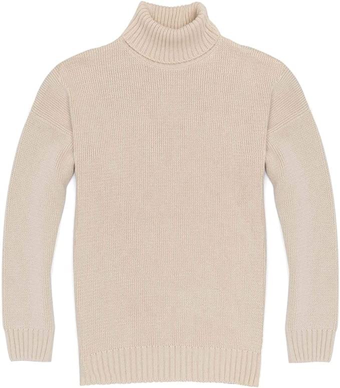 Men's Vintage Sweaters, Retro Jumpers 1920s to 1980s Paul James Knitwear Mens 100% Cotton Submariner Roll Neck Jumper £80.00 AT vintagedancer.com