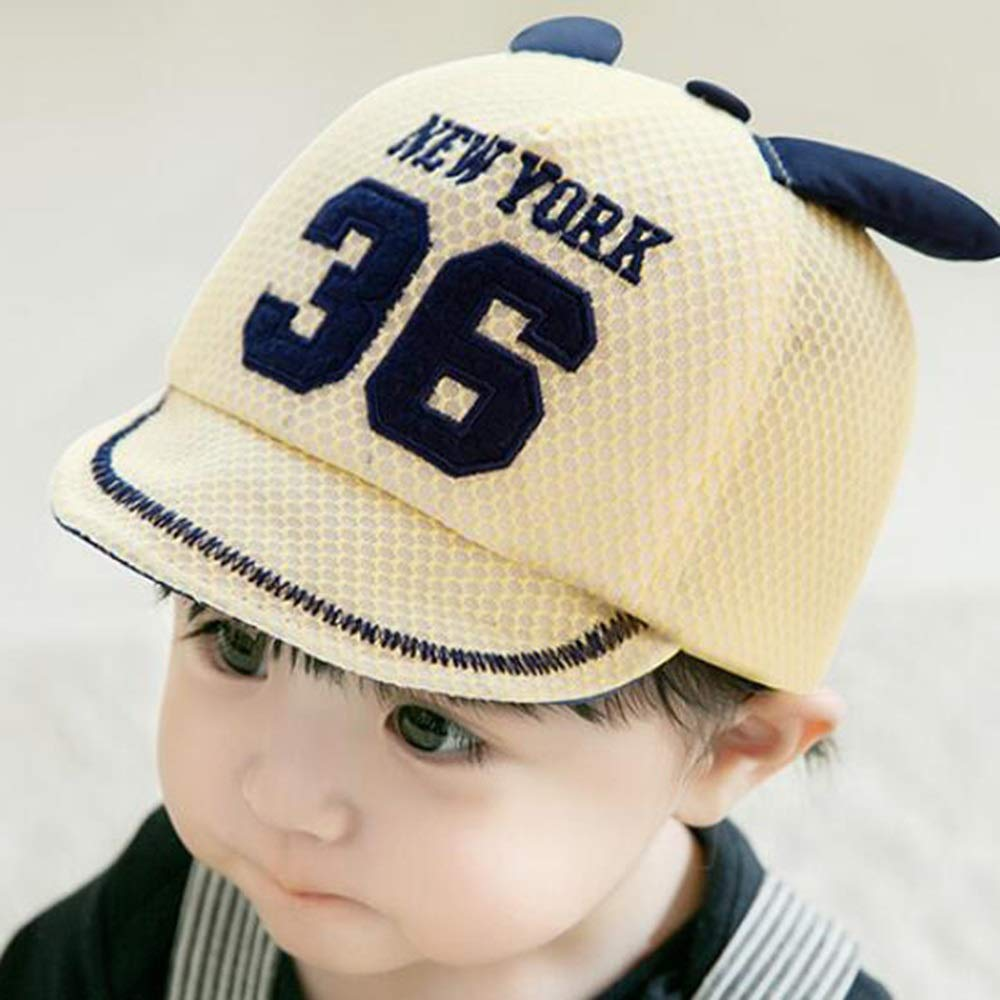 Baby Sun Hat with Face Shield Detachable UV Clear Visor Wide Brim Bucket Cap