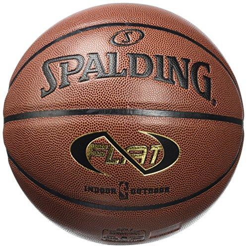 Spalding - Pallone NBA Neverflat Indoor/Outdoor, Arancione (Arancione), 7