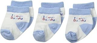 Jefferies Socks Unisex-Baby Newborn Family Bootie 3 Pair Pack