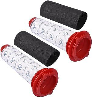 KEEPOW Filtros Lavables para Aspiradora Escoba Bosch Athlet, Pack Familiar Incluye 2 Filtros Lavables +
