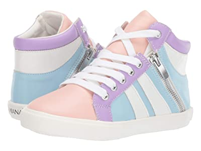 Amiana 15-A5508 (Toddler/Little Kid/Big Kid/Adult) (Pastel Color Block PU Combo) Girl
