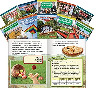 Teacher Created Materials - Common Core Mathematics Collection (Spanish) - 10 Book Set - Grade 2 - Guided Reading Level L - Q