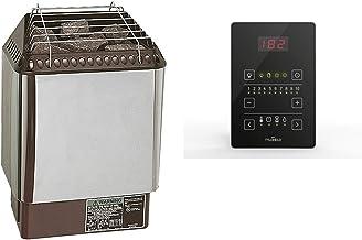 Amerec Sauna Heater with Rocks and Pure 2.0 Control Included (Sauna Designer Trend 6KW)