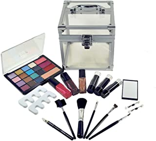 Lady De Carry All Trunk Professional Makeup Kit, Gift Set by Cameo