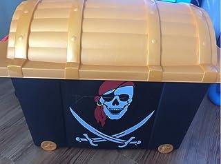 Noir Pirate-Boîte de rangement - 60 L