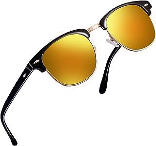 6e490f1c8c4 FEIUD SUNGLASSES FOR MEN WOMEN - Half Frame Polarized Classic fashion womens  mens sunglasses FD4003