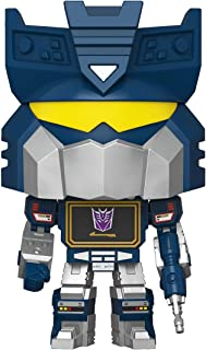 Funko 50969 POP vinilo: Transformers-Soundwave Retro S3 Juguete coleccionable, Multicolor