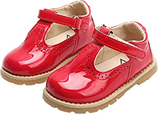 Toddlers Little Girls Retro T-Strap Princess Oxfords Mary Jane Flats School Dress Shoes