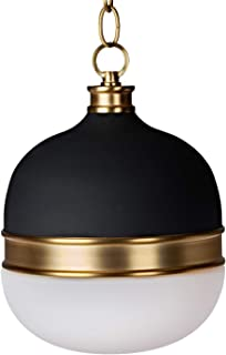MOTINI 100W Pendant Lighting Globes Matte Black Modern...