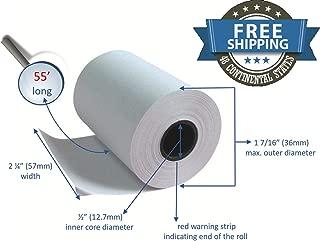 Clover Flex Receipt Paper 2 1/4 x 55 (10 rolls)