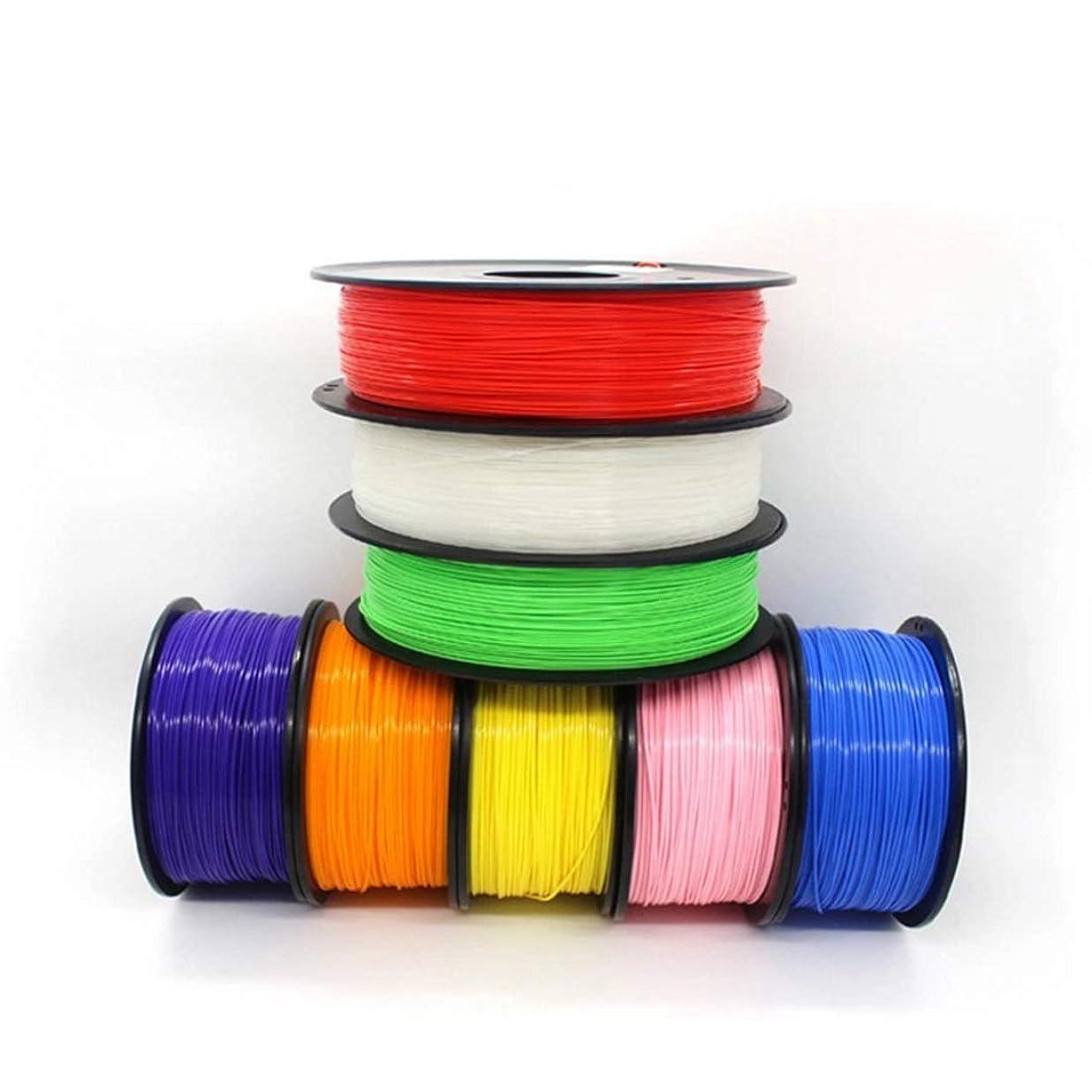 ジョセフバンクス塩フォルダXingyuan Technology 45色!PLA 3Dプリンターフィラメント 3Dプリントペンフィラメント 素材 フィラメント マテリアル PLA樹脂材料 無臭 1.75mm径 3.0mm 寸法精度+/-0.02mm 正味量1KG 殆どの3Dプリンターと3Dプリントペンが適用! (色 : Mint green)