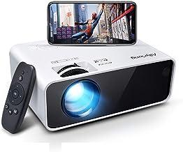 WiFi Heimkino Beamer, Allyoung Mini LED Projektor, 5000 Lumen Unterstützt 1080P Full HD,..