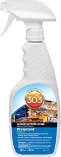 303 (30440-6PK) Indoor Outdoor Patio Furniture UV Protectant Spray for Vinyl, Plastic, Rubber, Fiberglass, Leather & More – Dust and Dirt Repellant - Non-Toxic, Matte Finish, 16 Fl. oz. (Pack of 6)