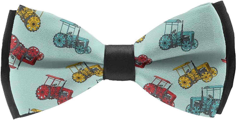 Self Bowtie for Wedding Tuxedo Classic Cravat Ties For Adults & Children Teens
