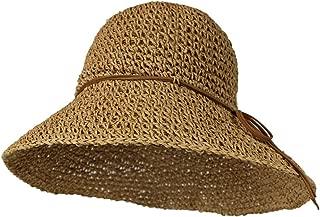 Best crochet straw bucket hat Reviews