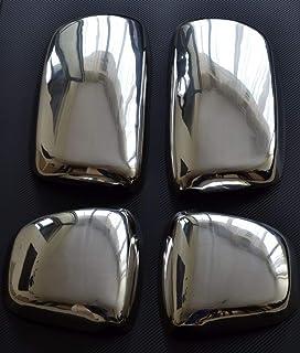 Nero Ala Mirror Calotte Sostituzione Laterale 2 Pezzi Copri Sinistra Destra YCGLX 1 Paia Auto Specchio Retrovisore Copertura per Alfa Romeo Giulia Quadrifoglio 2017 2018