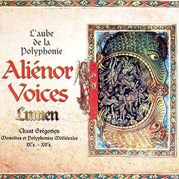 Lumen, chant Grégorien, Monodies et polyphonies Médiévales du IX au XIIème siècle