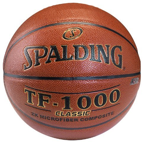 Spalding TF-1000 Classic Indoor Basketball - Intermediate Size 6 (28.5) by Spalding
