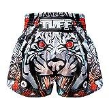 Tuff Muay Thai Shorts TUF-MS613-GRY-XXL