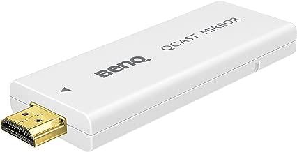 BenQ Qcast Mirror QP20 - Network Media Streaming Adapter - 802.11 B/A/G/N/AC - White