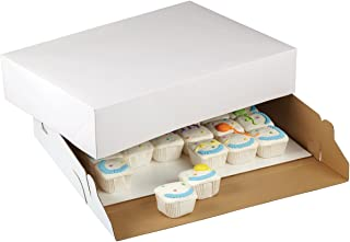 Wilton 415-0723 2-Pack Corrugated Cake Box, 19 by 14 by 4-Inch