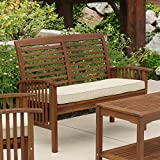 Walker Edison Furniture Company AZWLSDB Wood Outdoor Patio...