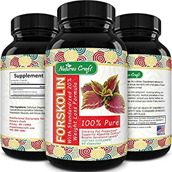Forskolin Supplement Natural Appetite Suppressant - Forskolin for Weight Loss Maximum Strength Metabolism Booster Sugar Blocker Belly Fat Burner Immune Support and Carb Blocker - Natural Weight Loss