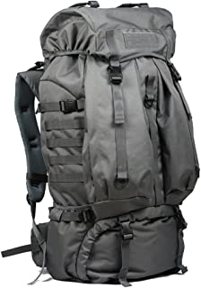 Mochilas de marcha 80L de viaje al aire libre bolsa de montañismo Hombres y mujeres a prueba de agua hombro senderismo mochila de camping Ergonomía Camping más ligero mochila del hogar ¡Buena elección