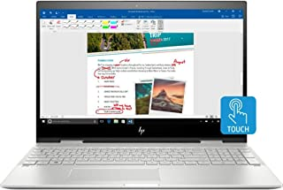 HP ENVY X360 15t Convertible 2-in-1 Premium Home and Business Laptop (Intel 8th Gen i7-8550U Quad-Core, 16GB RAM, 1000GB S...