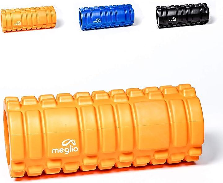 Foam roller - rullo per automassaggi -  allevia la tensione e il dolore muscolare. meglio FRG33O