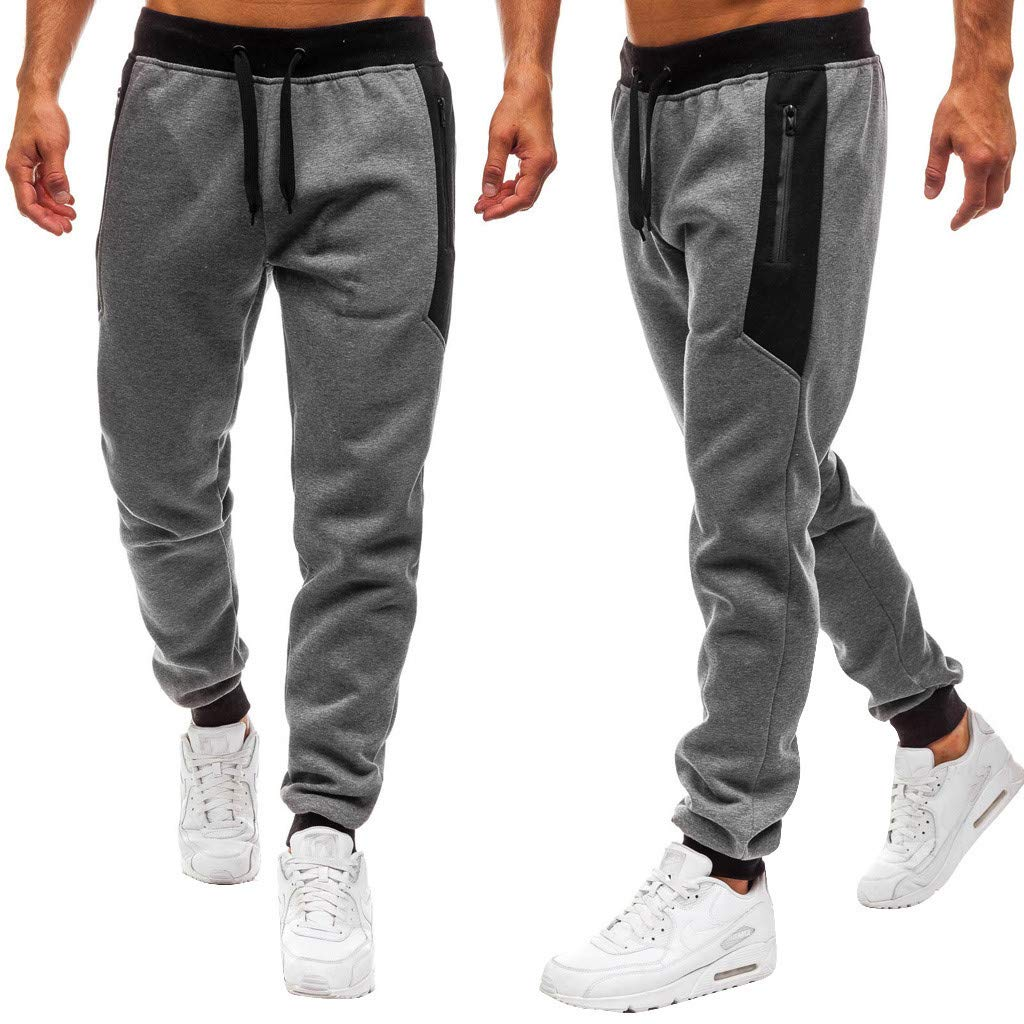 Convertible Pant Splicing Printed Pants Casual Sport Work Training Trouser