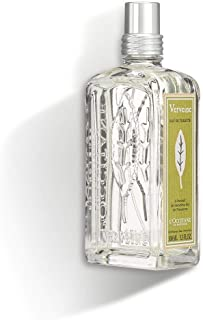 L'Occitane Refreshing Verbena Eau de Toilette Enriched with Organic Verbena, 3.3 Fl Oz