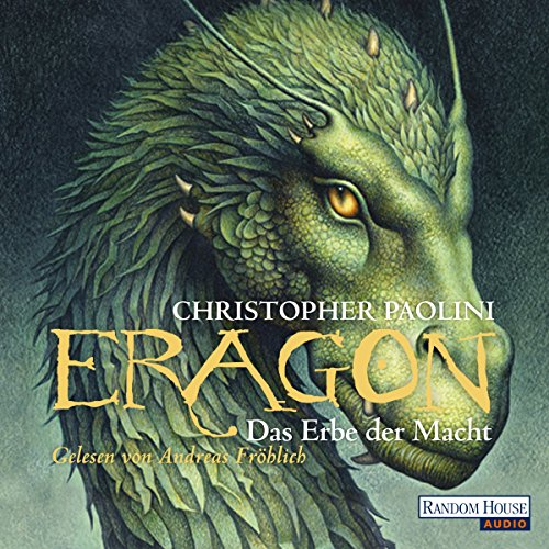 Das Erbe der Macht [German edition]     Eragon 4              By:                                                                                                                                 Christopher Paolini                               Narrated by:                                                                                                                                 Andreas Fröhlich                      Length: 33 hrs and 34 mins     39 ratings     Overall 4.2