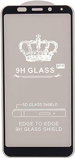 9H Glass Screen Protector for Xiaomi Redmi 5 Plus, Black