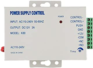 Access Control Power Supply for Door AC 110-220V to DC 12V