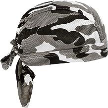JIAHG Sportbandana, cap, hoofddoek, voor dames en heren, sneldrogend, anti-uv-bescherming, piratenmuts, fietssport, motorf...