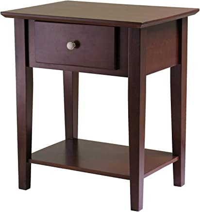 Winsome Wood 94922 Shaker Accent Table Antique Walnut