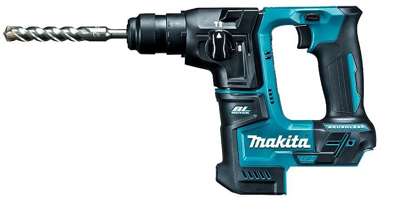 枯渇悪用ブリリアントマキタ(Makita) 17ミリ充電式ハンマドリル 18V ケース付?バッテリ?充電器別売 HR171DZK
