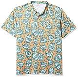 Columbia Trollers Best Short Sleeve Shirt Camisa, Bright Nectar Spirits N Sails-Impresión, 3XL (Alto) para Hombre