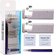2PCS Ear Nail Gun Disposable Aseptic Household Ear Piercing Gun Portable Ear Piercing Gun..