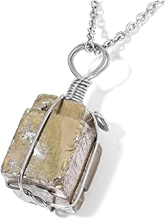 Best pyrite stone necklace Reviews